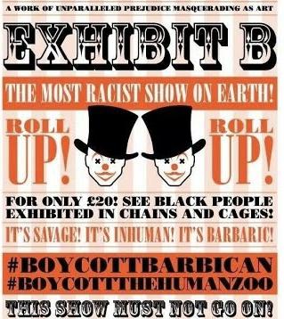 exhobit b poster